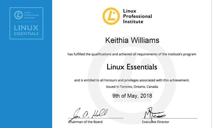 Linux Certificate