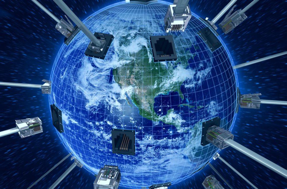 globe with connectors Kernelios עידן הסייבר (חלק 1) – מאין באנו ולאן אנו הולכים?
