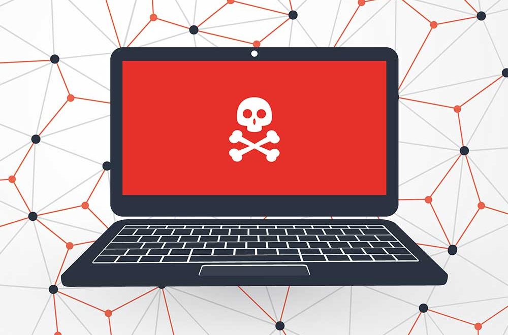 red screen laptop What Do Vulnerabilities and The stages of a cyber attack